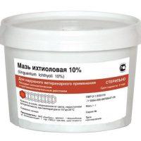 Мазь ихтиоловая 10% бан.0.8 кг
