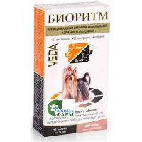 Биоритм для собак малых размеров 48таблеток по 0,5г