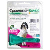 Фронтлайн Комбо L для собак весом 20-40 кг (1 пипетка) 2,68 мл