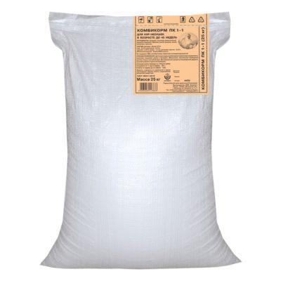 Комбикорм ПК 1-1 для кур-несушек до 45 недель порошок 25кг