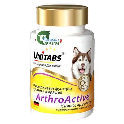 Юнитабс АртроАктив (Unitabs ArtroActive) для собак (100 таблеток) 150г