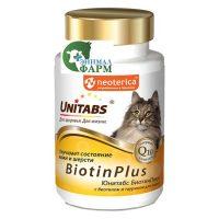 Юнитабс БиотинПлюс (Unitabs BiotinPlus) для кошек (120 таблеток) 60г