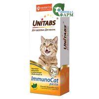 Юнитабс ИммуноКэт (Unitabs ImmunoCat paste) паста для кошек 120мл