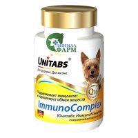 Юнитабс ИммуноКомплекс (Unitabs ImmunoComplex) для мелких собак (100 таблеток) 75г