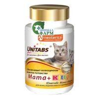 Юнитабс Мама+Китти (Unitabs Maina+Kitty) для котят и беременных кошек (120 таблеток) 60г