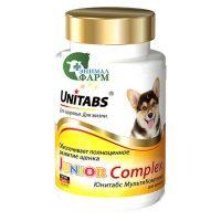 Юнитабс Unitabs JuniorComplex мультикомплекс для щенков (100 таблеток) 75г