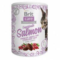 Брит (Brit) Care лакомство Superfruits Salmon steril Суперфрутс с лососем для стерилизованных кошек 100г