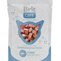Брит (Brit Care) пауч для кошек Тунец 80г