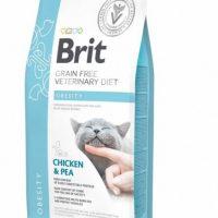 Брит (Brit GF VDC) Obesity беззерновая диета при избыточном весе для кошек 400г