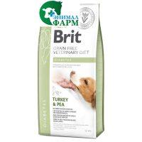 Брит (Brit GF VDD) Diabetes беззерновая диета при диабете для собак 2кг