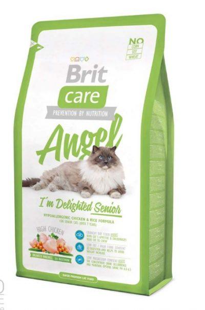 Брит (Brite Care Cat Angel Delighted Senior) для пожилых кошек 400г