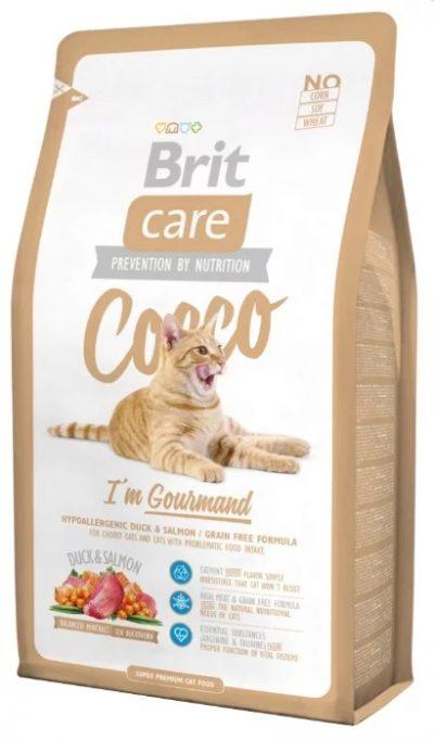 Брит (Brite Care Cat Cocco Gourmand) беззерновой для привередливых кошек 400гБрит (Brite Care Cat Cocco Gourmand) беззерновой для привередливых кошек 400г