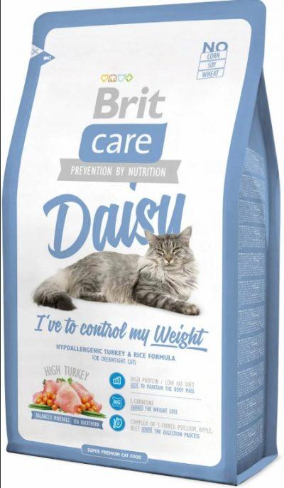 Брит (Brite Care Cat Daisy) для для кошек с избыточным весом 400г