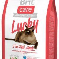 Брит (Brite Care Cat Lucky Vital Adult) для взрослых кошек 400г