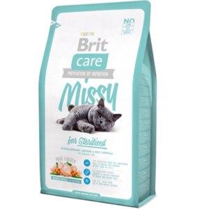 Брит (Brite Care Cat Missy for Sterilised) для кастрированных котов 400г