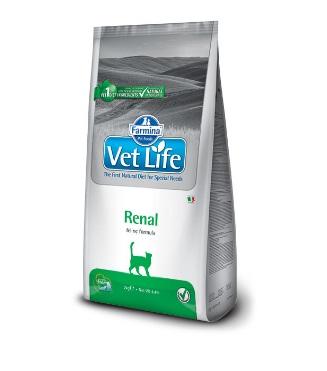 Фармина Вет Лайф (Farmina Vet Life Renal) диета для кошек при заболеваниях почек 2кг