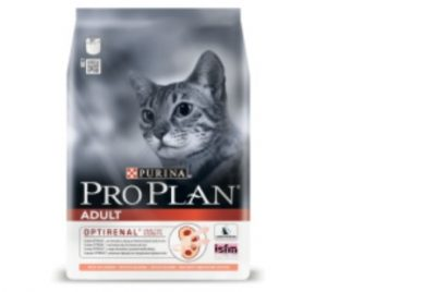 PRO PLAN (Про План) Adult с комплексом Optirenal для взрослых кошек, лосось 3кг