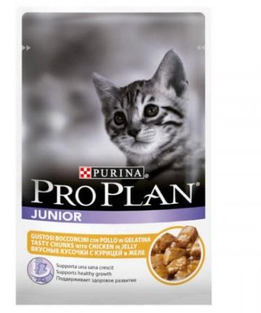 PRO PLAN (Про План) Junior для котят с мясом курицы 85г