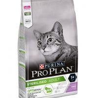 PRO PLAN (Про План) Sterilised для кастрированных котов и стерилизованных кошек, индейка 3кг
