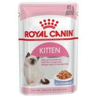 Royal Canin (Роял Канин) Kitten Instinctive 12 для котят от 4 до 12 месяцев, мясо в соусе 85г