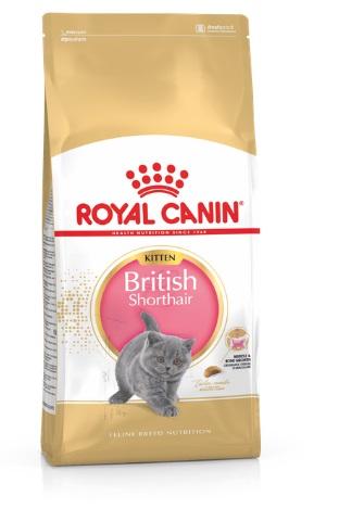 Роял Канин (Royal Canin) British Shorthair Kitten для британских короткошерстных котят 400г