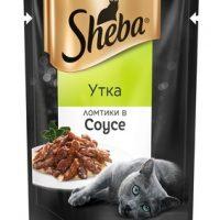Шеба Плежер (Sheba Pleasure) ломтики в соусе утка 85г